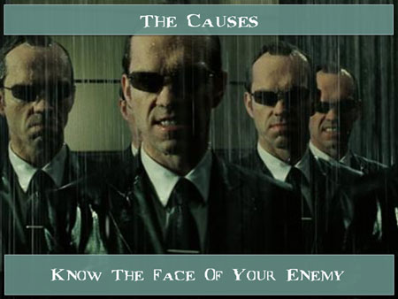 The Causes: Know the Face of Your Enemy.