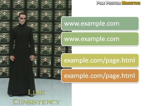 Solution: Link Consistency.