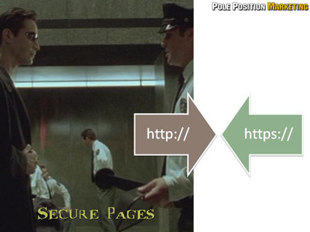 Cause: Secure page issues.