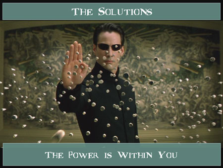 The Solutions: The Power is Within You.